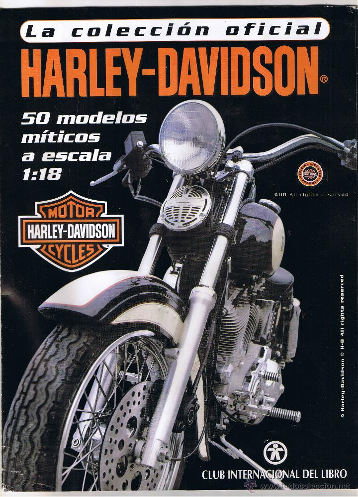 COLECCION OFICIAL HARLEY DAVIDSON MOTOR CYCLES - 48 FASCICULOS - FALTAN NºS 12 Y 23 - FOTOS ADIC (Coches y Motocicletas - Revistas de Motos y Motocicletas)