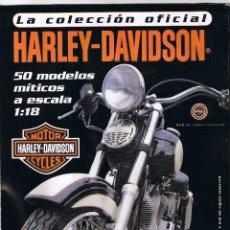Coches y Motocicletas: COLECCION OFICIAL HARLEY DAVIDSON MOTOR CYCLES - 48 FASCICULOS - FALTAN NºS 12 Y 23 - FOTOS ADIC. Lote 45776221