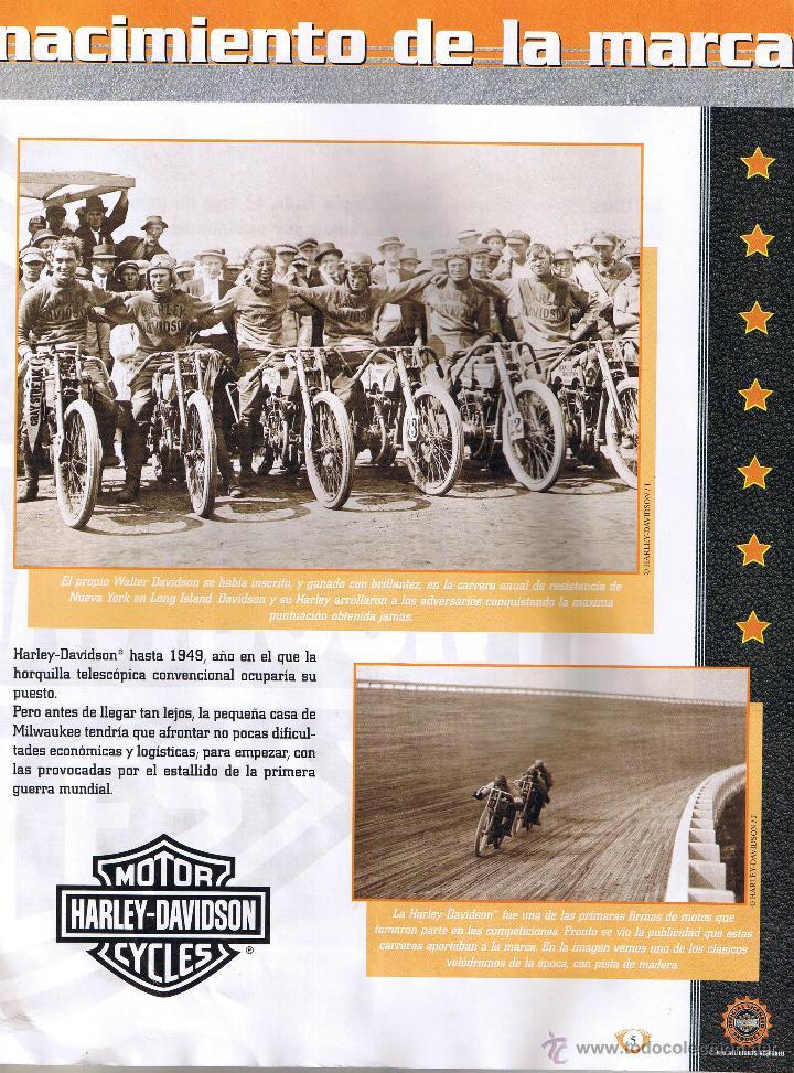 Coches y Motocicletas: COLECCION OFICIAL HARLEY DAVIDSON MOTOR CYCLES - 48 FASCICULOS - FALTAN Nºs 12 Y 23 - FOTOS ADIC - Foto 2 - 45776221