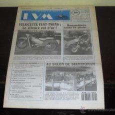 Coches y Motocicletas: LA VIE DE LA MOTO Nº 91/20 - VELOCETTE FLAT-TWINS - SALON DE BIRMINGHAM -. Lote 45809009