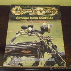 Coches y Motocicletas: CLASSIC BIKE Nº 20 - AÑO 1981 - TEST 500 PATON - RALEIGH -. Lote 45809312