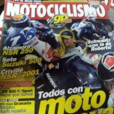 Coches y Motocicletas: REVISTAS MOTOCICLISMO Nº 1707 SEPTIEMPRE 2001. Lote 46179463
