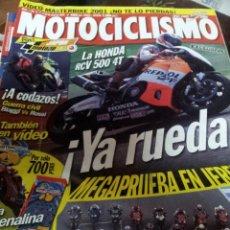 Coches y Motocicletas: REVISTAS MOTOCICLISMO Nº 1730 SEPTIEMPRE 2001. Lote 46179524