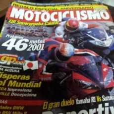 Coches y Motocicletas: REVISTAS MOTOCICLISMO Nº 1727 SEPTIEMPRE 2001. Lote 46179630