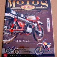 Coches y Motocicletas: REVISTA MOTOS DE AYER Nº 46. Lote 46297047