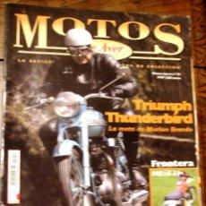 Coches y Motocicletas: REVISTA MOTOS DE AYER Nº 52. Lote 126888763