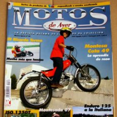 Coches y Motocicletas: REVISTA MOTOS DE AYER Nº 80. Lote 57240616