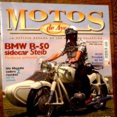 Coches y Motocicletas: REVISTA MOTOS DE AYER Nº 54. Lote 126888088
