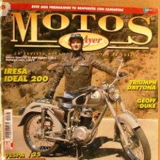 Coches y Motocicletas: REVISTA MOTOS DE AYER Nº 73. Lote 113185448