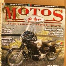Coches y Motocicletas: REVISTA MOTOS DE AYER Nº 84. Lote 46317211