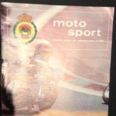 Coches y Motocicletas: REVISTA DE 1978 MOTO SPORT FME ORGANO OFICIAL DEL MOTOCICLISMO ESPAÑOL Nº 87. Lote 46411999