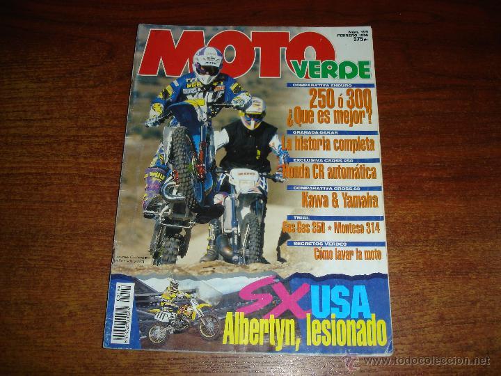REVISTA - MOTO VERDE. Nº 199 AÑO 1995 (Coches y Motocicletas - Revistas de Motos y Motocicletas)