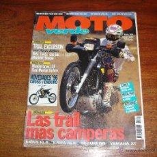 Coches y Motocicletas: REVISTA - MOTO VERDE. Nº 204 AÑO 1995. Lote 46575058