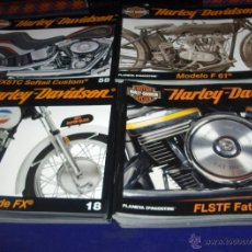 Coches y Motocicletas: MOTOR CYCLES HARLEY DAVIDSON FROM THE PAST TO THE FUTURE NºS 1 AL 72 CON ESTUCHE PLANETA 2008. BE.. Lote 46769586