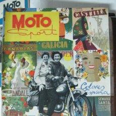 Coches y Motocicletas: REVISTA MOTO SPORT Nº 1 ABRIL 1952. Lote 46908723