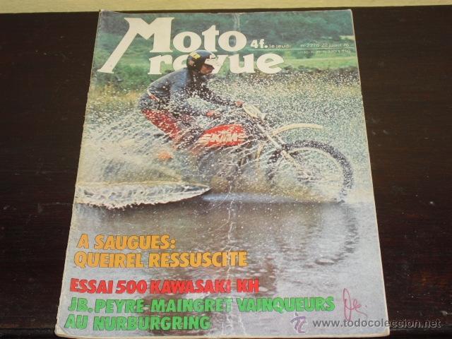 MOTO REVUE Nº 2278 - 22-7-1976 - PRUEBA KAWASAKI 500 KH - 2T - 3 CILINDROS - (Coches y Motocicletas - Revistas de Motos y Motocicletas)