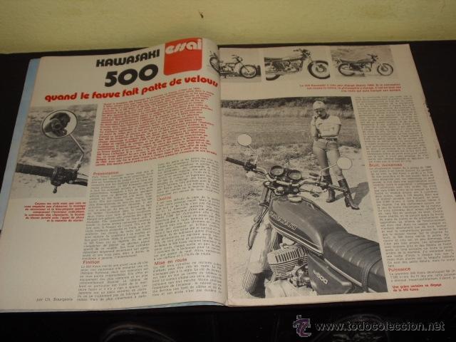 Coches y Motocicletas: MOTO REVUE Nº 2278 - 22-7-1976 - PRUEBA KAWASAKI 500 KH - 2T - 3 CILINDROS - - Foto 4 - 46978726