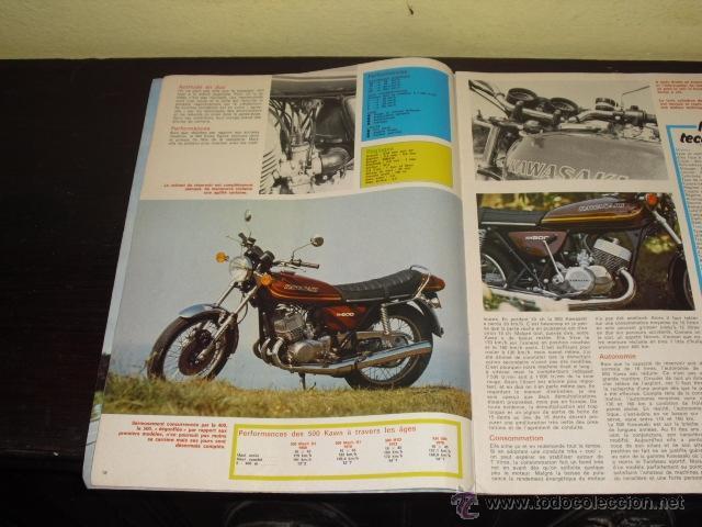 Coches y Motocicletas: MOTO REVUE Nº 2278 - 22-7-1976 - PRUEBA KAWASAKI 500 KH - 2T - 3 CILINDROS - - Foto 6 - 46978726