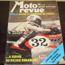 Coches y Motocicletas: MOTO REVUE Nº 2263 - SPECIAL PRINTEMPS - ABRIL 1976 -PRUEBA KAWASAKI 750 Z - 200 MILLAS IMOLA-. Lote 46978969
