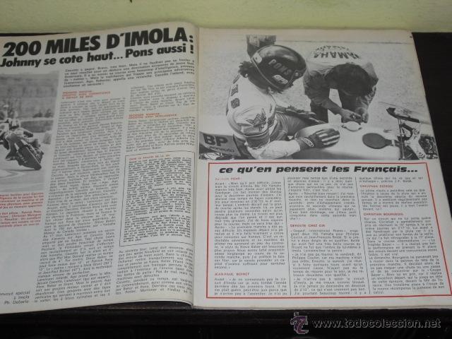Coches y Motocicletas: MOTO REVUE Nº 2215-ABRIL 1975 - PRUEBA BMW R-75/6 - 200 MILAS DE IMOLA - - Foto 3 - 46989991