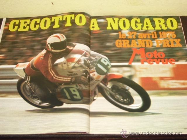 Coches y Motocicletas: MOTO REVUE Nº 2215-ABRIL 1975 - PRUEBA BMW R-75/6 - 200 MILAS DE IMOLA - - Foto 7 - 46989991