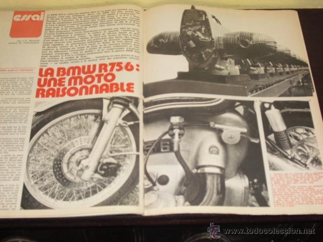 Coches y Motocicletas: MOTO REVUE Nº 2215-ABRIL 1975 - PRUEBA BMW R-75/6 - 200 MILAS DE IMOLA - - Foto 8 - 46989991