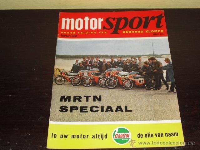 MOTOR SPORT - FEBRERO 1969 - ELEFANTREFFEN - MIKE HAILWOOD - (Coches y Motocicletas - Revistas de Motos y Motocicletas)