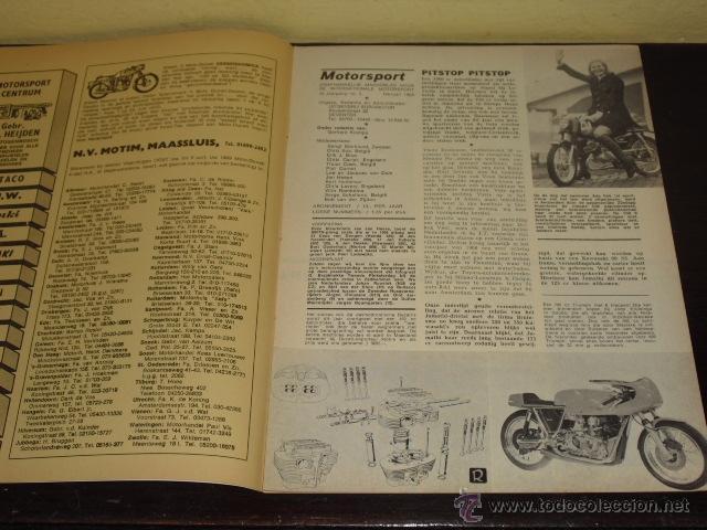 Coches y Motocicletas: MOTOR SPORT - FEBRERO 1969 - ELEFANTREFFEN - MIKE HAILWOOD - - Foto 3 - 47021738