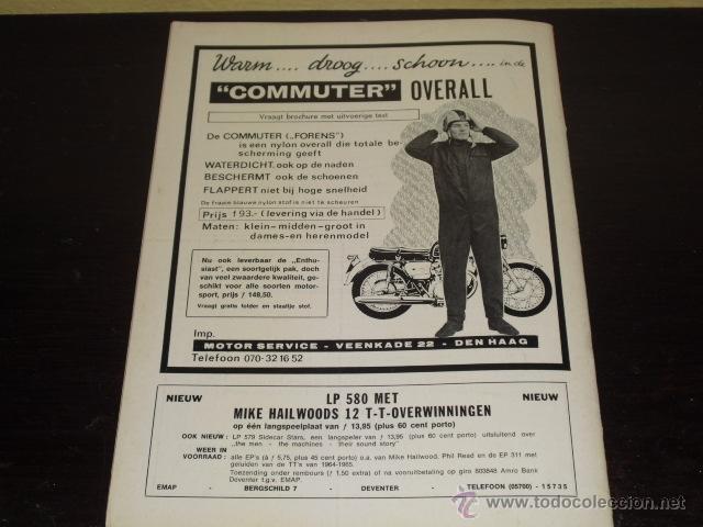 Coches y Motocicletas: MOTOR SPORT - FEBRERO 1969 - ELEFANTREFFEN - MIKE HAILWOOD - - Foto 9 - 47021738