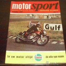 Coches y Motocicletas: MOTOR SPORT - DECEMBER 1969 - FACTORIA NORTON VILLIERS - SALON DE MILAN -. Lote 47021851