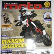 Coches y Motocicletas: REVISTA MOTO.COM NÚM. 16. FEBRERO 2014.. Lote 47049210