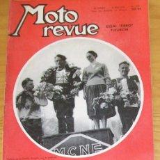Coches y Motocicletas: MOTO REVUE N.1393 MAI-1958 TERROT FLEURON 125, GP FRANCE DE CROSS, NORTON.... Lote 47078937