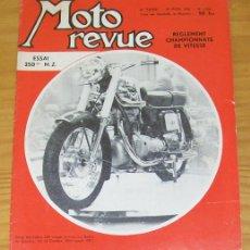 Coches y Motocicletas: MOTO REVUE N.1384 MAR-1958 CONDOR 250, MZ 250, MONZA MARS, MONTESA BRIO, CROSS.... Lote 47078982