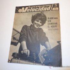 Carros e motociclos: REVISTA VELOCIDAD 13 ABRIL 1963 NUM 83,REVISTA VELOCIDAD NUM 89, RENAULT GORDINI, FORD. Lote 47082302