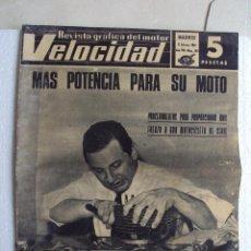 Coches y Motocicletas: VELOCIDAD, REVISTA GRÁFICA DEL MOTOR, AÑO VIII-NÚM,283, MADRID 1967, NUMERO ESPECIAL. Lote 47139480