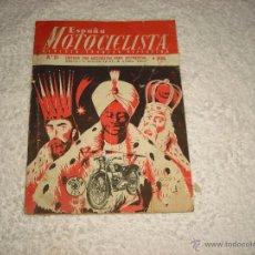 Coches y Motocicletas: ESPAÑA MOTOCICLISTA REVISTA TECNICO DEPORTIVA Nº 27. 1954. Lote 47197411