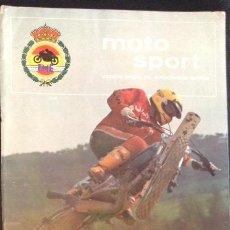 Coches y Motocicletas: REVISTA DE 1978 MOTO SPORT FME ORGANO OFICIAL DEL MOTOCICLISMO ESPAÑOL Nº 83. Lote 47237777