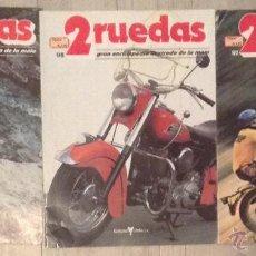 Coches y Motocicletas: LOTE REVISTA 2 RUEDAS NUMERO Nº 97-98-99 GRAN ENCICLOPEDIA ILUSTRADA DE LA MOTO. Lote 47393455