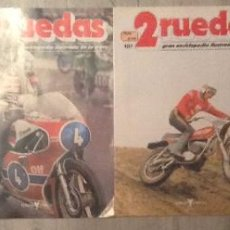Coches y Motocicletas: LOTE REVISTA 2 RUEDAS NUMERO Nº 100-102-104 GRAN ENCICLOPEDIA ILUSTRADA DE LA MOTO. Lote 47393476