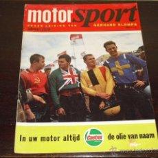 Coches y Motocicletas: MOTOR SPORT FEBRERO 1970 - GRAN PRIX JUGOSLAVIA - KTM - TRIAL - MOTO CROSS -. Lote 47496564