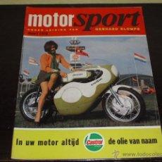 Coches y Motocicletas: MOTOR SPORT MARZO 1970 - TEST TRIUMP TRIPLE - PRODUCCION INTERNACIONAL MOTOS -. Lote 47497134