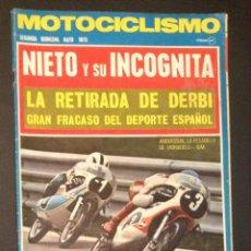 Coches y Motocicletas: REVISTA MOTOCICLISMO SEGUNDA QUINCENA MAYO 1973 . Lote 47527138