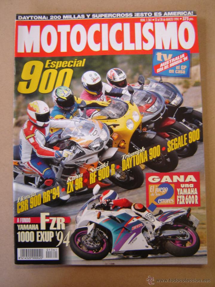REVISTA MOTOCICLISMO Nº 1361 (Coches y Motocicletas - Revistas de Motos y Motocicletas)