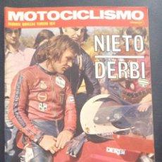 Coches y Motocicletas: REVISTA MOTOCICLISMO SEGUNDA QUINCENA FEBRERO 1974 DUCATI 750 SPORT AÑOS 70. Lote 47534219