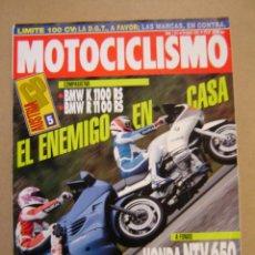 Coches y Motocicletas: REVISTA MOTOCICLISMO Nº 1317 DE 1993. Lote 47538758