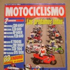 Coches y Motocicletas: REVISTA MOTOCICLISMO Nº 1307 DE 1993. Lote 47539275
