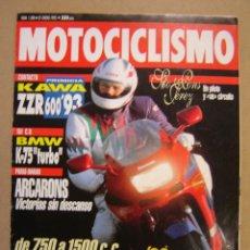 Coches y Motocicletas: REVISTA MOTOCICLISMO Nº 1300 DE 1993. Lote 47539341