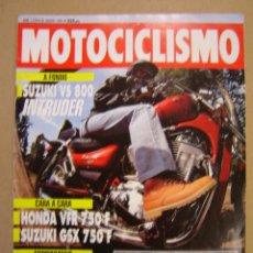 Coches y Motocicletas: REVISTA MOTOCICLISMO Nº 1278 DE 1992. Lote 47539465