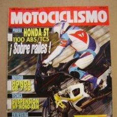 Coches y Motocicletas: REVISTA MOTOCICLISMO Nº 1242 DE 1992. Lote 47539617