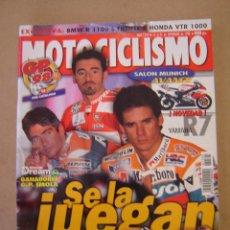 Coches y Motocicletas: REVISTA MOTOCICLISMO Nº 1595 DE 1998. Lote 47568343